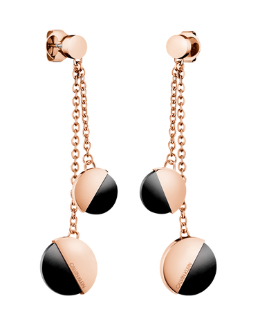 Calvin Klein Spicy - Stainless Steel Rose Gold Earrings - KJ8RBE140200 - 768271