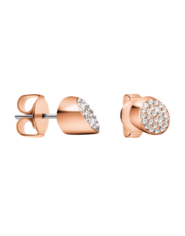 Calvin Klein Brilliant - Stainless Steel Rose Gold Earrings - KJ8YPE1401 - 766883