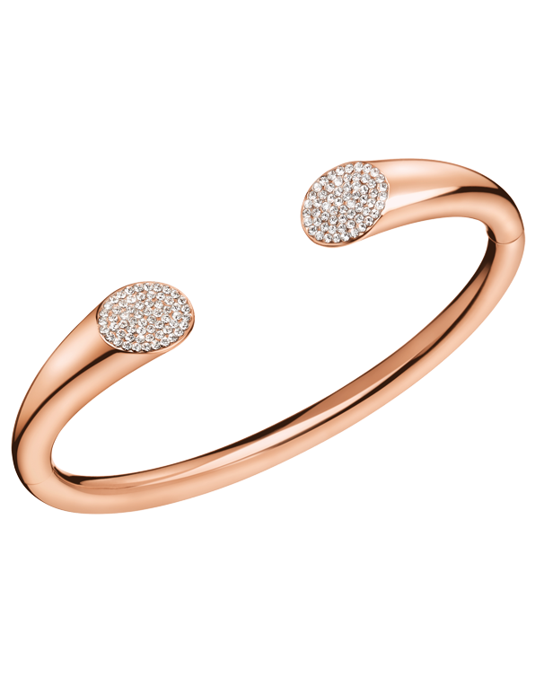 Calvin Klein Brilliant - Stainless Steel Rose Gold Bangle - KJ8YPF1401 - 766884 - Salera's Melbourne, Victoria and Brisbane, Queensland Australia