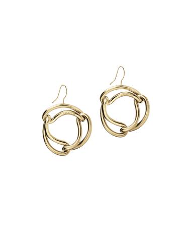 Calvin Klein Unified - Stainless Steel Champagne Gold Earrings - KJ9QJE100100 - 781048