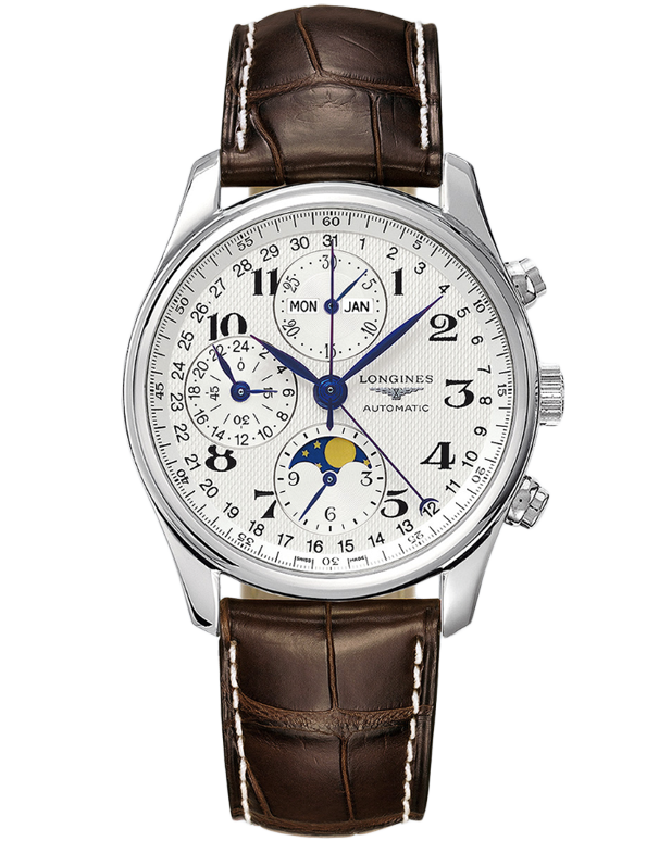 Longines Master Collection - Automatic Multifunction Watch - L2.673.4.78.3 - Salera's Melbourne, Victoria and Brisbane, Queensland Australia