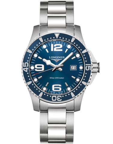 Longines HydroConquest - Quartz Watch - L3.640.4.96.6
