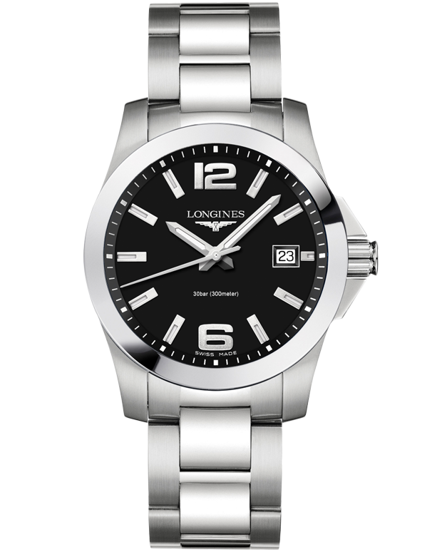 Longines Conquest - Quartz Watch - L3.759.4.58.6 - 762775 - Salera's