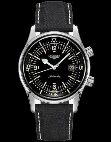 Longines Heritage - Legend Diver Watch - L3.774.4.50.2 - 770359