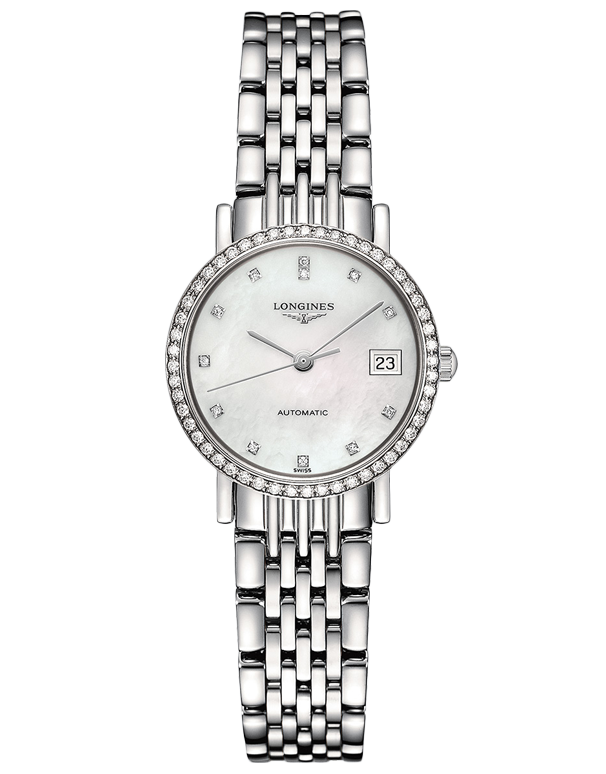 Longines Elegant Collection - Automatic Watch - L4.309.0.87.6 - 756917 - Salera's