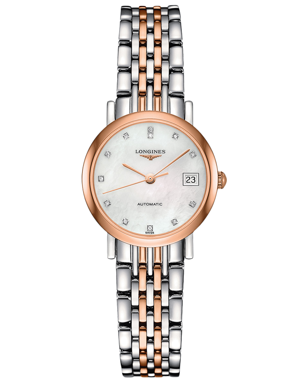 Longines Elegant Collection - Automatic Watch - L4.309.5.87.7 - Salera's Melbourne, Victoria and Brisbane, Queensland Australia