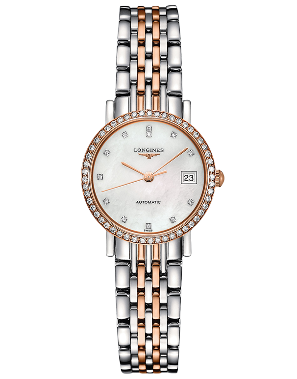 Longines Elegant Collection - Automatic Watch - L4.309.5.88.7 - 756925 - Salera's