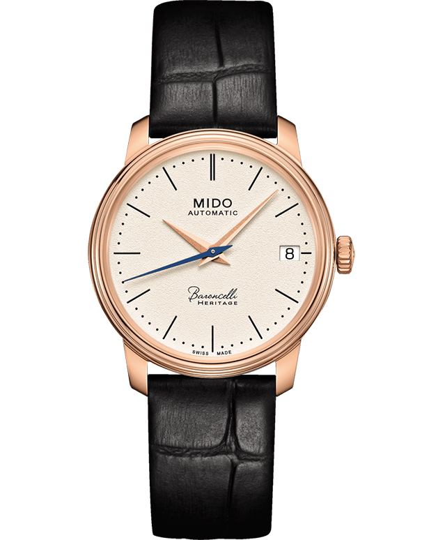MIDO - Baroncelli Heritage Automatic Ladies Watch - M0272073626000 - 781815