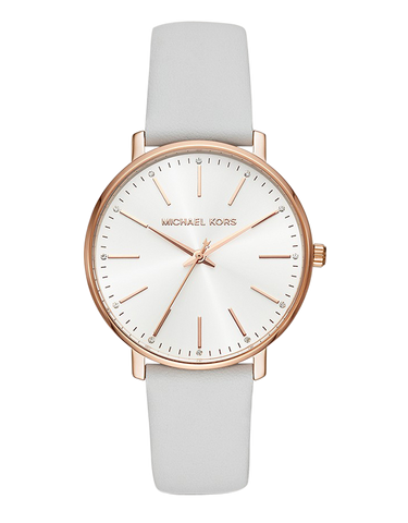 Michael Kors - Pyper White Analogue Watch  -  MK2800 - 770167