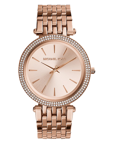 Michael Kors - Darci Rose Tone Analogue Watch  - MK3192 - 757475