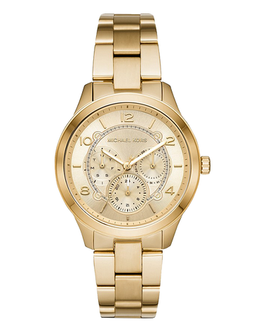 Michael Kors -  Runway Gold-Tone Analogue Watch -  MK6588  -  768220