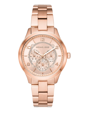 Michael Kors -  Runway Gold-Tone Analogue Watch -  MK6589  -  768222