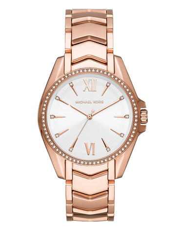 Michael Kors - Whitney Rose Gold-Tone Analogue Watch  - MK6694 - 771521