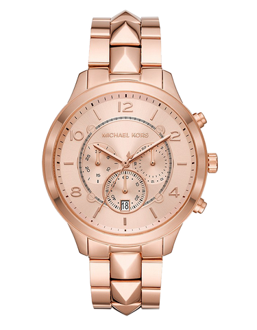 Michael Kors - Runway Mercer Rose Gold-Tone Chronograph Watch  - MK6713 - 771611