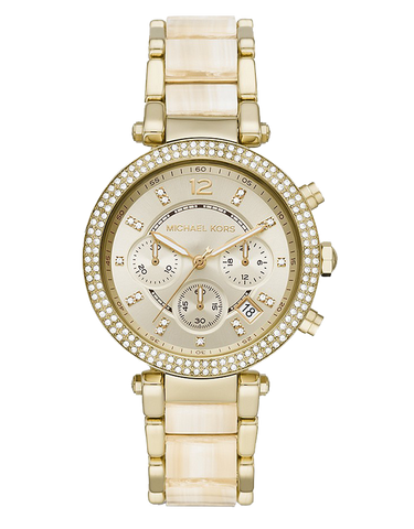 Michael Kors - Parker Two Tone Chronograph Watch  - MK6831 - 781574