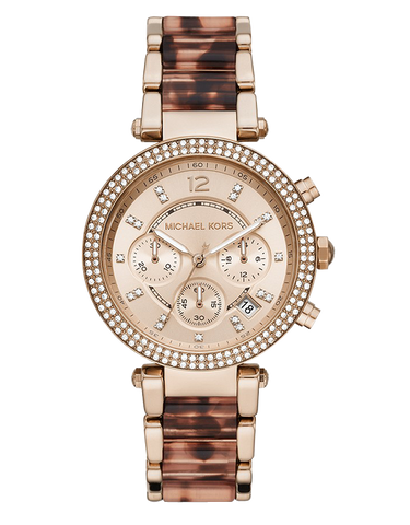 Michael Kors - Parker Two Tone Chronograph Watch - MK6832 - 781575