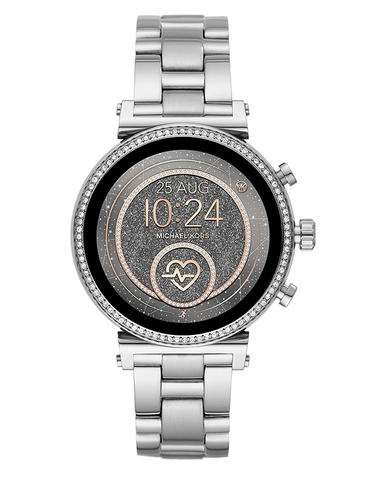 Michael Kors - Sofie Silver Display Smartwatch  - MKT5061 - 771371