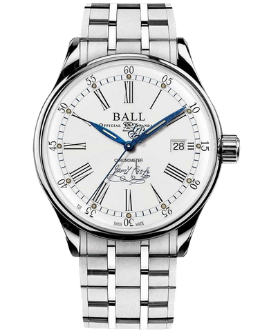 Ball Trainmaster Endeavour James Cook Watch - NM3288D-S2CJ-WH - 781844