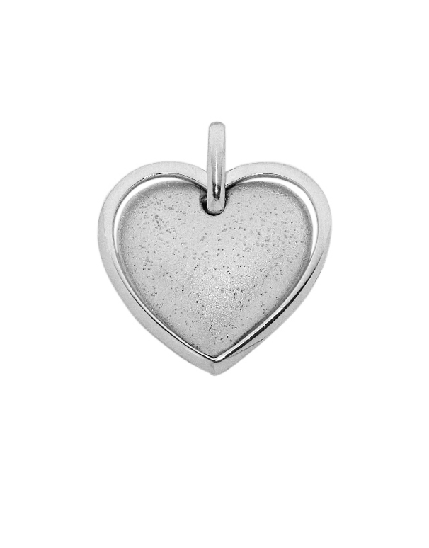 Silver Pendant - Sterling Silver Heart Pendant - 753719 - Salera's Melbourne, Victoria and Brisbane, Queensland Australia