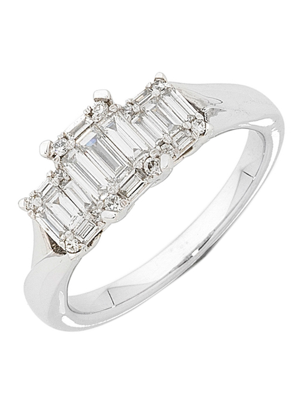 Diamond Ring - White Gold Diamond Ring - 752240 - Salera's Melbourne, Victoria and Brisbane, Queensland Australia