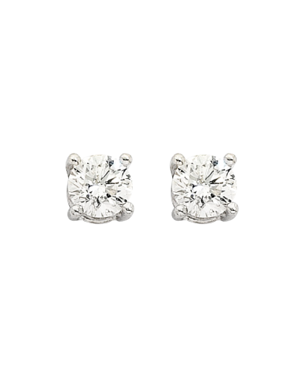Diamond Studs - 0.30ct White Gold Diamond Studs - 700316 - Salera's Melbourne, Victoria and Brisbane, Queensland Australia