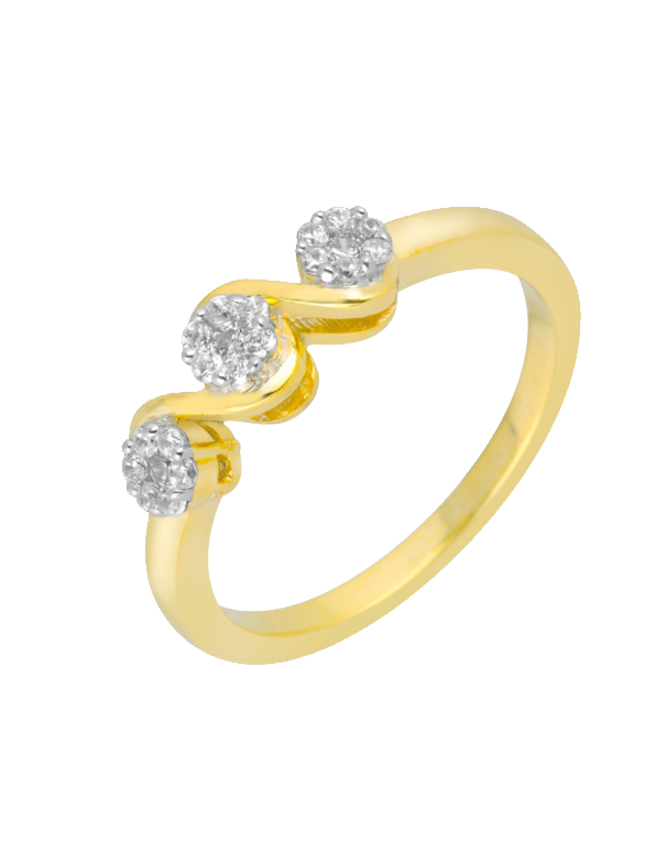Diamond Ring - Yellow Gold Diamond Ring - 756338 - Salera's Melbourne, Victoria and Brisbane, Queensland Australia