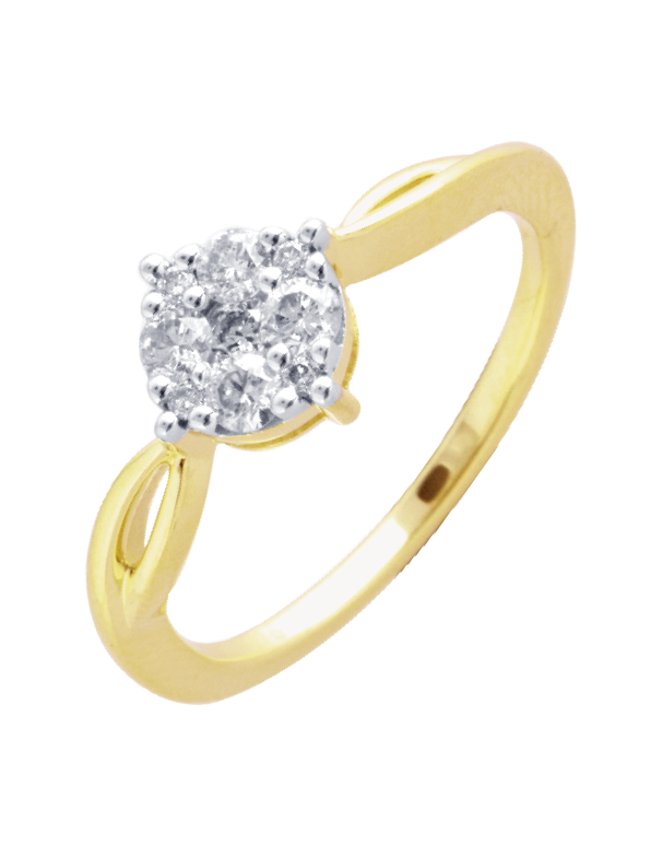Diamond Ring - Yellow Gold Diamond Ring - 756470 - Salera's Melbourne, Victoria and Brisbane, Queensland Australia