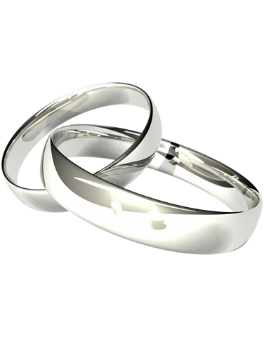 Wedding Band - 9ct, 18ct, Platinum and Palladium Wedding Bands