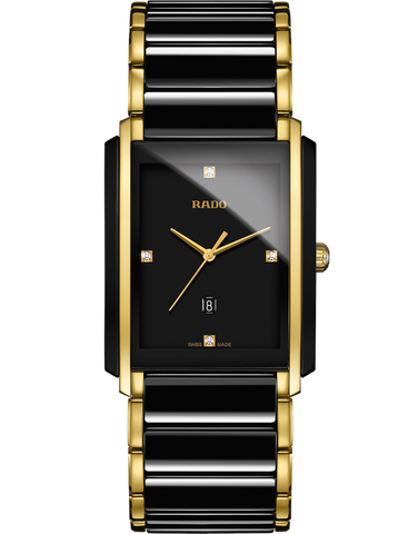 Rado Integral - Diamonds Quartz Watch - R20204712 - 756278
