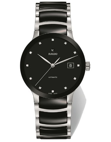 Rado Centrix - 12 Diamond Gents Automatic Watch - R30941752 - 771602