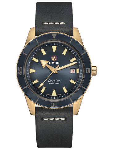Rado HyperChrome - Bronze Captain Cook Blue - R32504205 - 781905