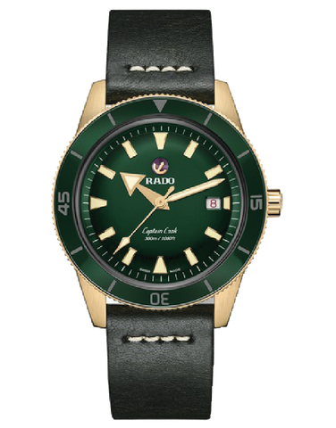 Rado HyperChrome - Bronze Captain Cook Green - R32504315 - 781904