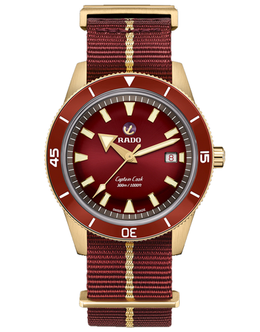 Rado HyperChrome - Bronze Captain Cook Red - R32504407 - 782095
