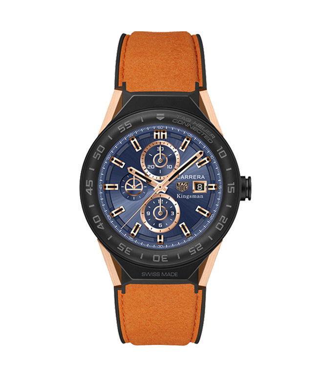 Salera's TAG Heuer Connected Modular 45 Kingsman Special Edition - SBF8A8023.32EB0103