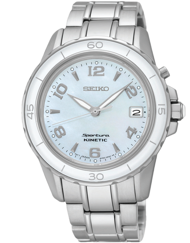 Seiko - Sportura Kinetic Watch - SKA879P