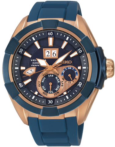 Seiko - Velatura Kinetic Perpetual Watch - SNP120P