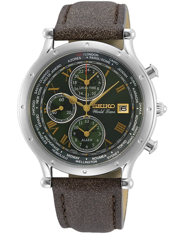 Seiko - Age Of Discovery Special Edition World Time Watch - SPL057P - 781528