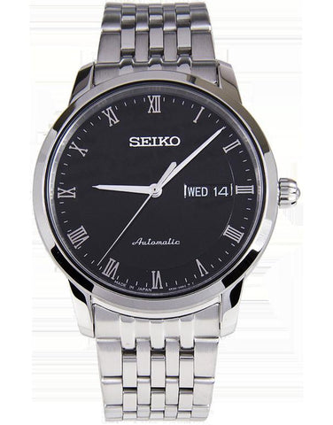 Seiko - Men's Stainless Steel Automatic Watch - SRP693J