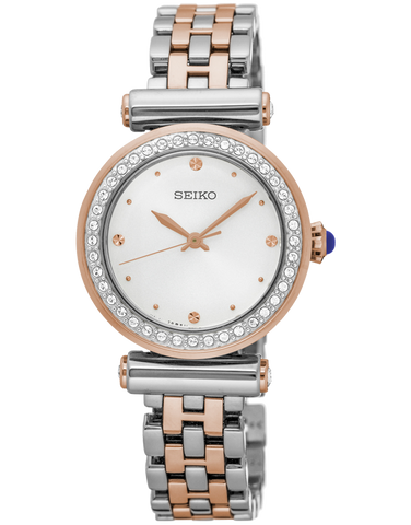 Seiko - Conceptual Regular Crystal Set Watch - SRZ466P - 763203