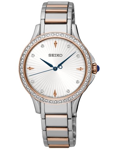 Seiko - Crystal Set Quartz Watch - SRZ486P1