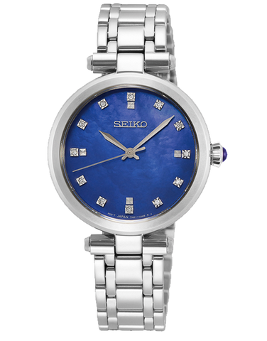 Seiko - Ladies Quartz Analogue Watch - SRZ531P - 781345
