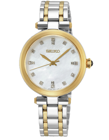 Seiko - Ladies Quartz Analogue Watch - SRZ532P - 781346