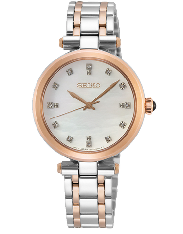 Seiko - Ladies Quartz Analogue Watch - SRZ534P - 781348