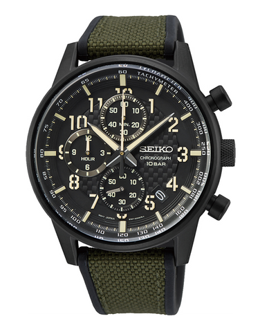Seiko - Quartz Chronograph Watch - SSB373P - 781356