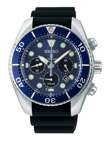 Seiko - Prospex Solar Chronograph Divers Watch - SSC759J - 781338