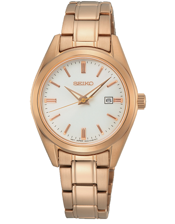 Seiko - Ladies Quartz Analogue Watch - SUR630P - 781364
