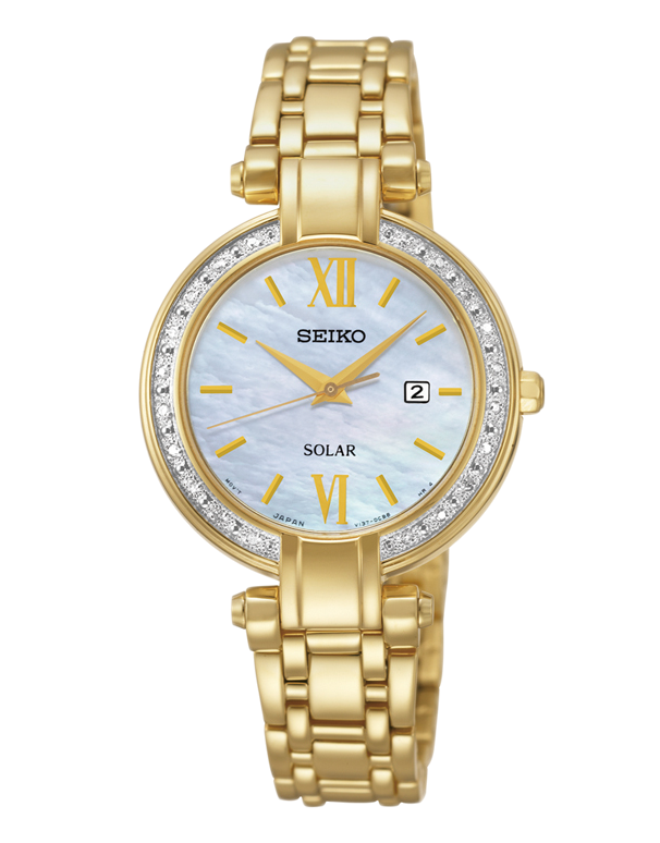 Seiko - Solar Watch - SUT182P-9 - Salera's Melbourne, Victoria and Brisbane, Queensland Australia