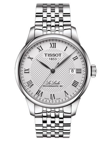 Tissot T-Classic Le Locle Powermatic 80 Automatic Watch - T006.407.11.033.00