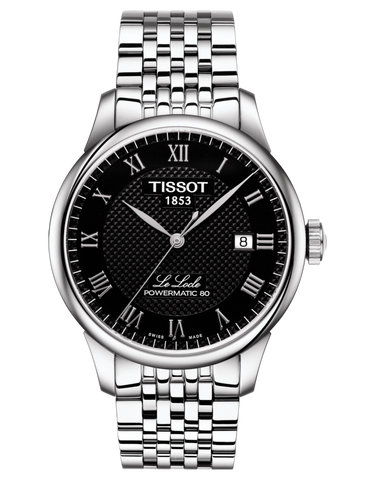 Tissot T-Classic Le Locle Powermatic 80 Automatic Watch - T006.407.11.053.00
