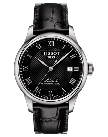 Tissot T-Classic Le Locle Powermatic 80 Automatic Watch - T006.407.16.053.00
